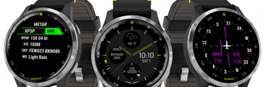 D2 AIR AVIATOR SMARTWATCH DELIVERS POWERFUL FLIGHT FUNCTIONALITY WITH A VIBRANT AMOLED DISPLAY