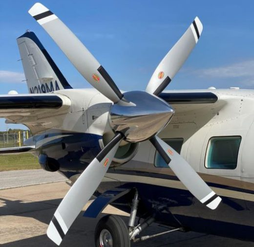 Intercontinental Jet Service Corp Awarded MU-2 STC for Scimitar Hartzell Props With Extended TBO